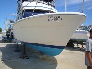 Boat examined by Long Bay Marine Survey